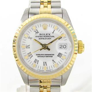 ロレックス (ROLEX) デイトジャスト ウォッチ 腕時計 69173 E番