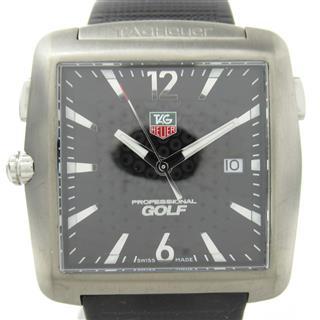 タグ・ホイヤー (TAG HEUER) ゴルフウォッチ タイガーウッズモデル ウォッチ 腕時計 WAE1110-0