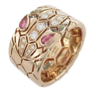 ブルガリ (BVLGARI) セルペンティバンドリング 指輪