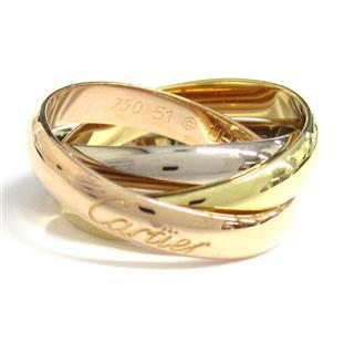 カルティエ (Cartier) トリニティリング クラシック 指輪 B4052700