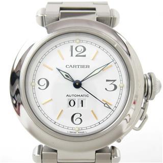 カルティエ (Cartier) パシャCグランデデイト ウォッチ 腕時計 W31044M7
