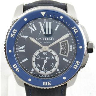カルティエ (Cartier) カリブル・ドゥ・カルティエダイバー ウォッチ 腕時計 WSCA0010