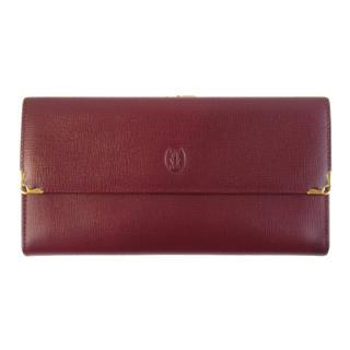 カルティエ (Cartier) マストラインがま口長財布