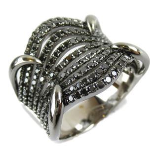 ジュエリー (JEWELRY) ブラック ダイヤモンド リング 指輪
