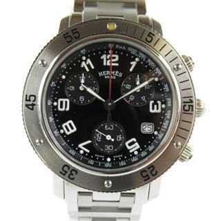 エルメス (HERMES) クリッパーダイバークロノグラフ ウォッチ 腕時計 CL2.910