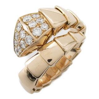 ブルガリ (BVLGARI) セルペンティ ダイヤモンド リング 指輪