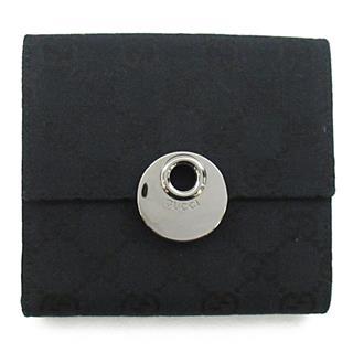 グッチ (GUCCI) GGキャンバス Wホック財布