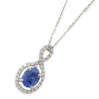 ジュエリー (JEWELRY) サファイア ダイヤモンド ネックレス