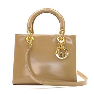 クリスチャン・ディオール (Dior) レディーディオール 2way トートバッグ