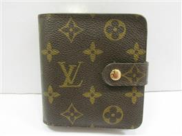 LOUIS VUITTON(ルイヴィトン ルイヴィトン コンパクト・ジップ 折財布 M61667