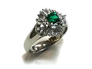 ジュエリー (JEWELRY) エメラルド リング 指輪