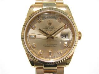 ロレックス (ROLEX) デイデイト 時計 ウォッチ 118235A