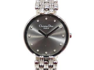 クリスチャン・ディオール (Dior) 12Pダイヤ時計 ウォッチ 腕時計