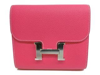 エルメス (HERMES) コンスタンス コンパクト 二つ折り財布
