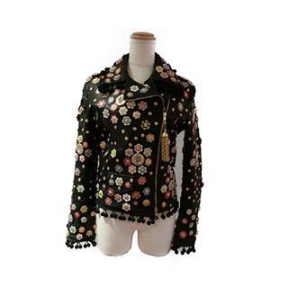 モスキーノ (MOSCHINO) ライダースジャケット