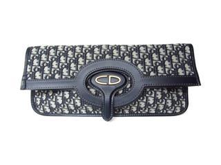 クリスチャン・ディオール (Dior) オブリーク2wayクラッチバッグ