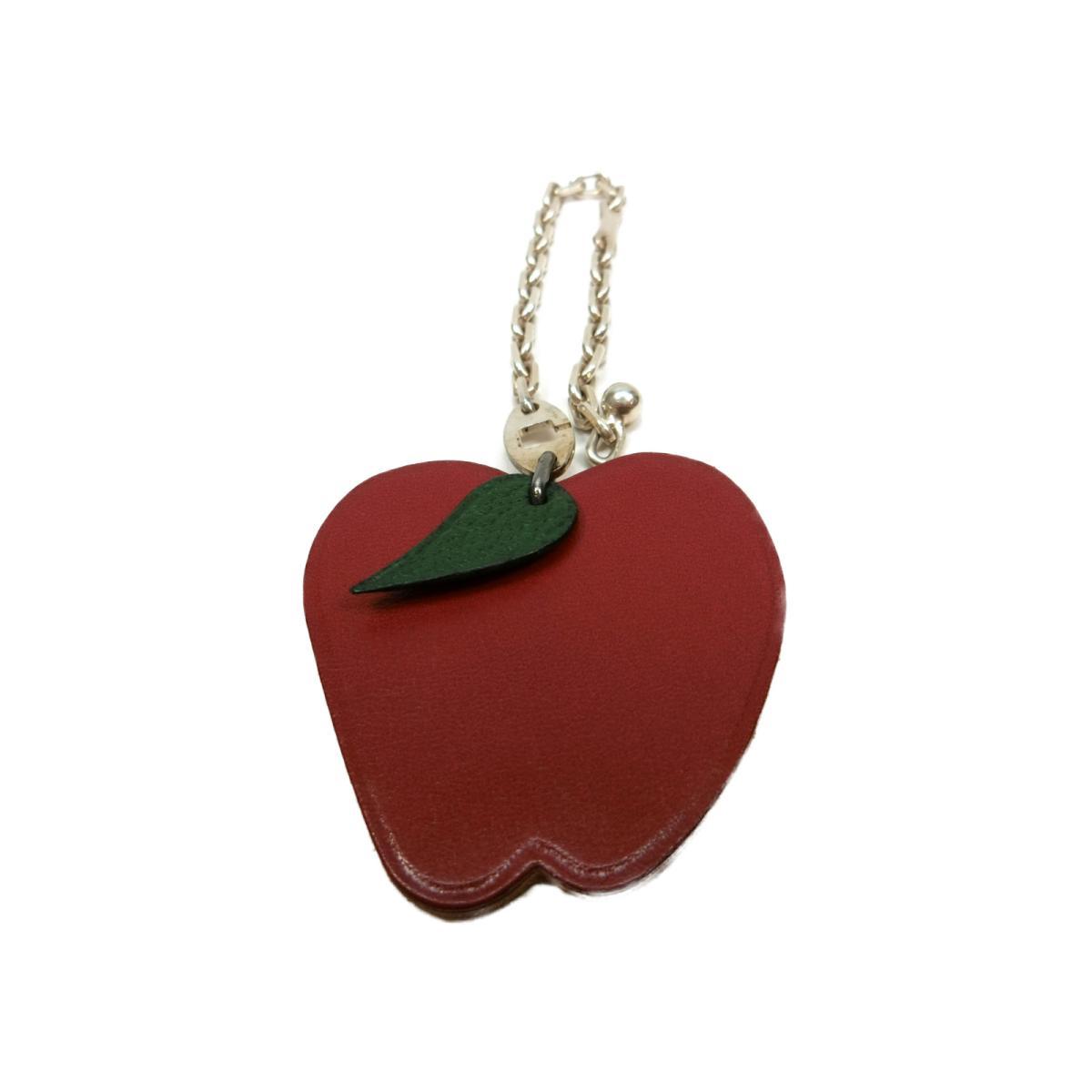 リンゴモチーフ キーホルダー/りんご 林檎 キーホルダー