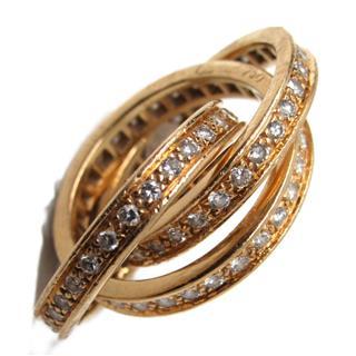カルティエ (Cartier) トリニティリング フルダイヤモンド 指輪