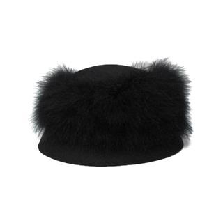 セレクション (SELECTION) DOLLARGAND 羽根つき 帽子