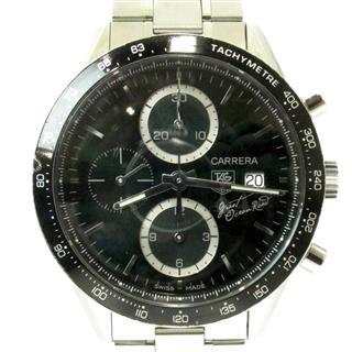 タグ・ホイヤー (TAG HEUER) カレラ タキメーター クロノグラフ グレートオーシャンロード 腕時計 ウォッチ CV201F
