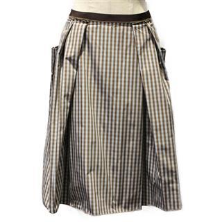 フォクシー (FOXEY) チェック スカート 23808-SVAH55
