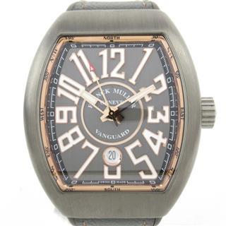 フランク・ミュラー (FRANCK MULLER) ヴァンガード ウォッチ 腕時計 V45SCDT5NBRTT