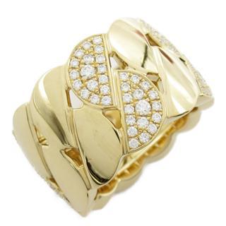 カルティエ (Cartier) ラドーニャ XL ハーフダイヤモンド リング 指輪 B4069351