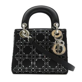 クリスチャン・ディオール (Dior) レディーディオール ミニ 2WAYショルダーバッグ