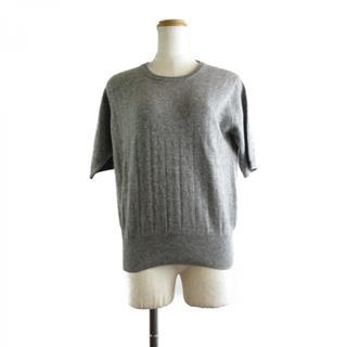"""""""1パーセント (0.01)"""" 半そでセーター"""