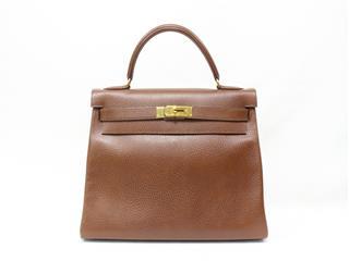 エルメス (HERMES) ケリー32 (内縫い) ハンドバッグ