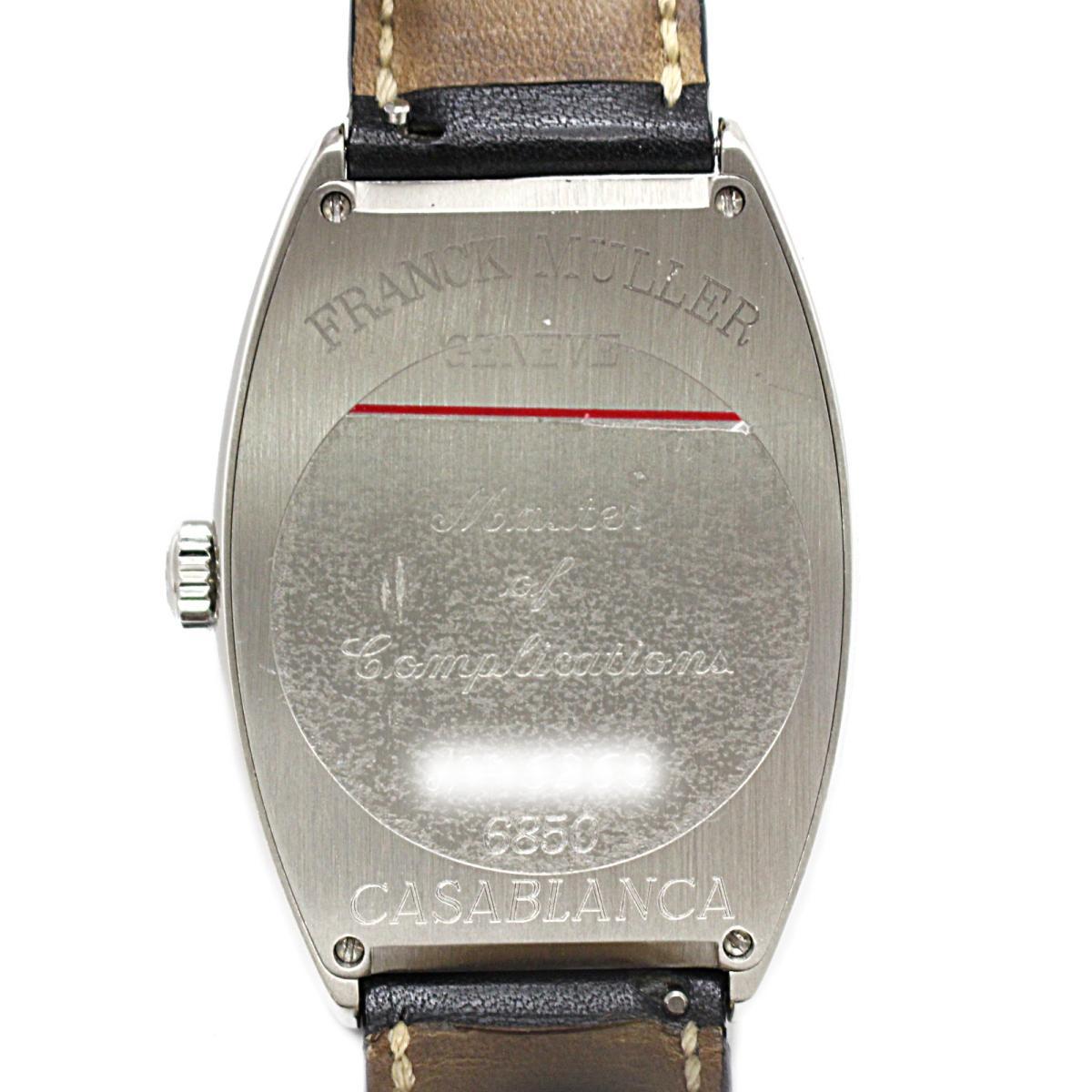 FRANCK MULLER 時計 6850 カサブランカ メンズウォッチ 腕時計/人気/SALE/お買得品
