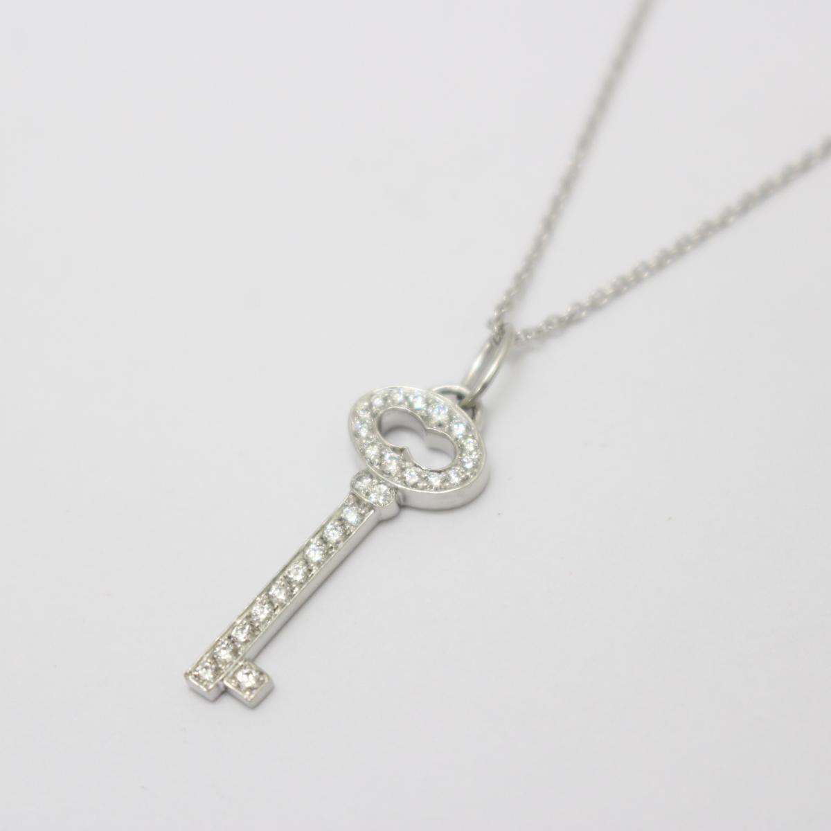 ヴィンテージオーバルキー ダイヤモンド ネックレス