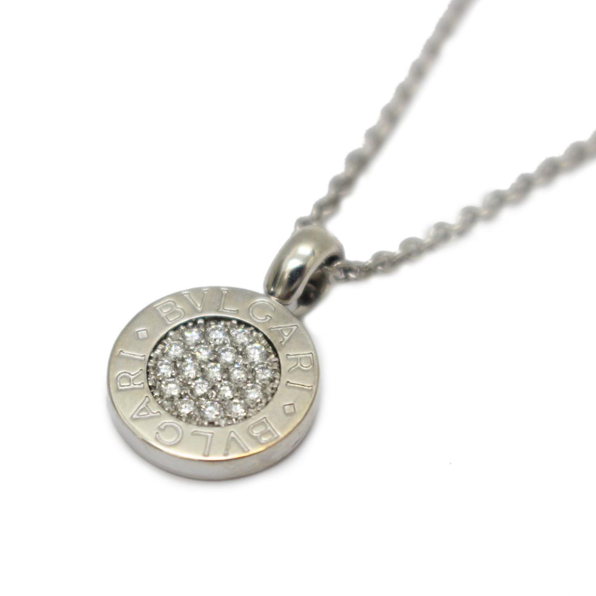 ブルガリブルガリ パヴェダイヤモンド ネックレス/お洒落
