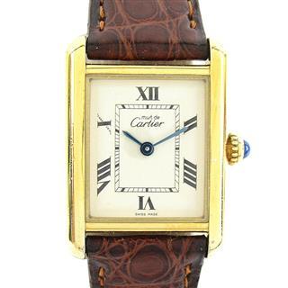 カルティエ (Cartier) マストタンクヴェルメイユ ウォッチ 腕時計 2415