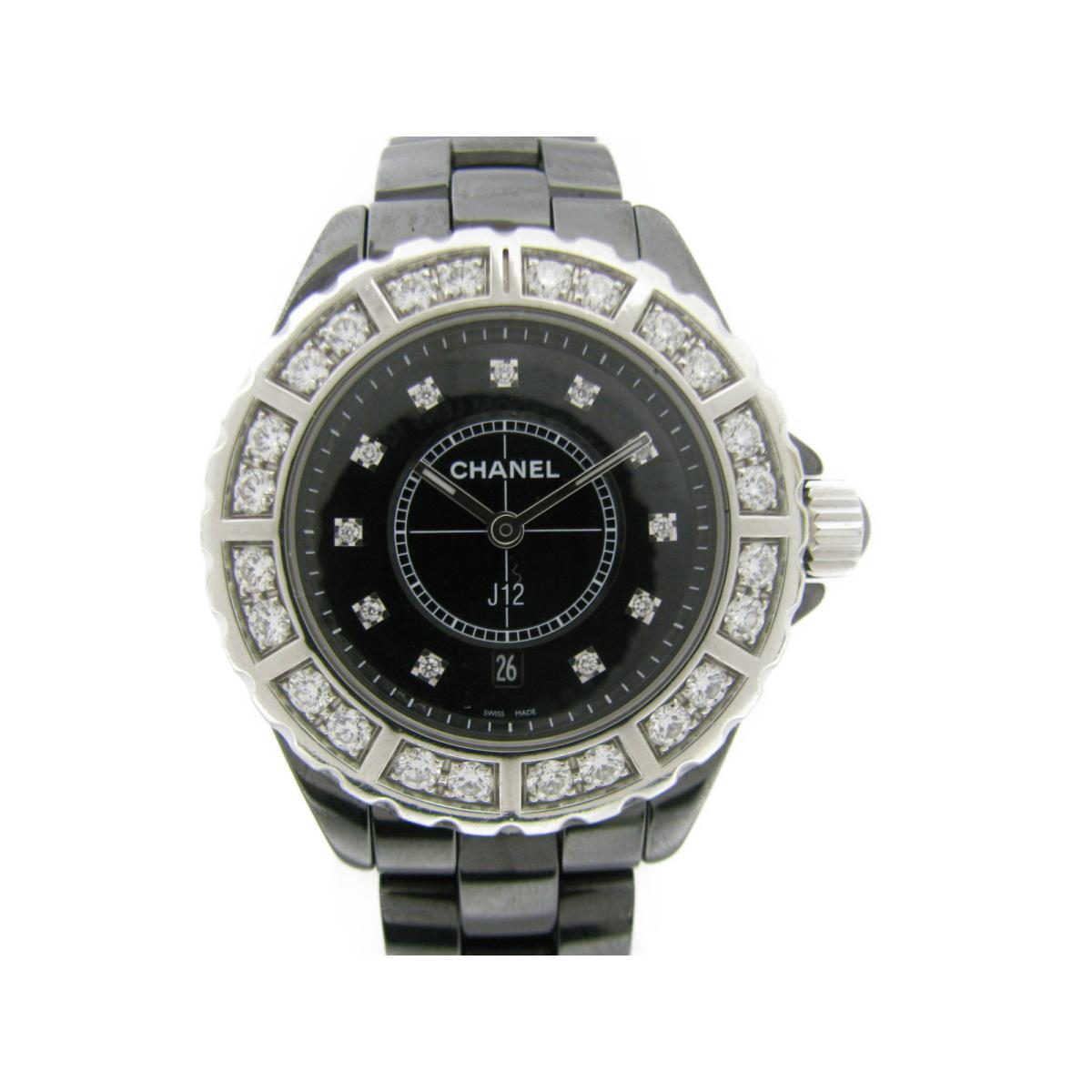 J12 ラージ ベゼルダイヤモンド 腕時計/お洒落/可愛い