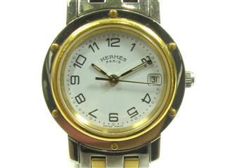 エルメス (HERMES) クリッパー ウォッチ 腕時計 CL4.220