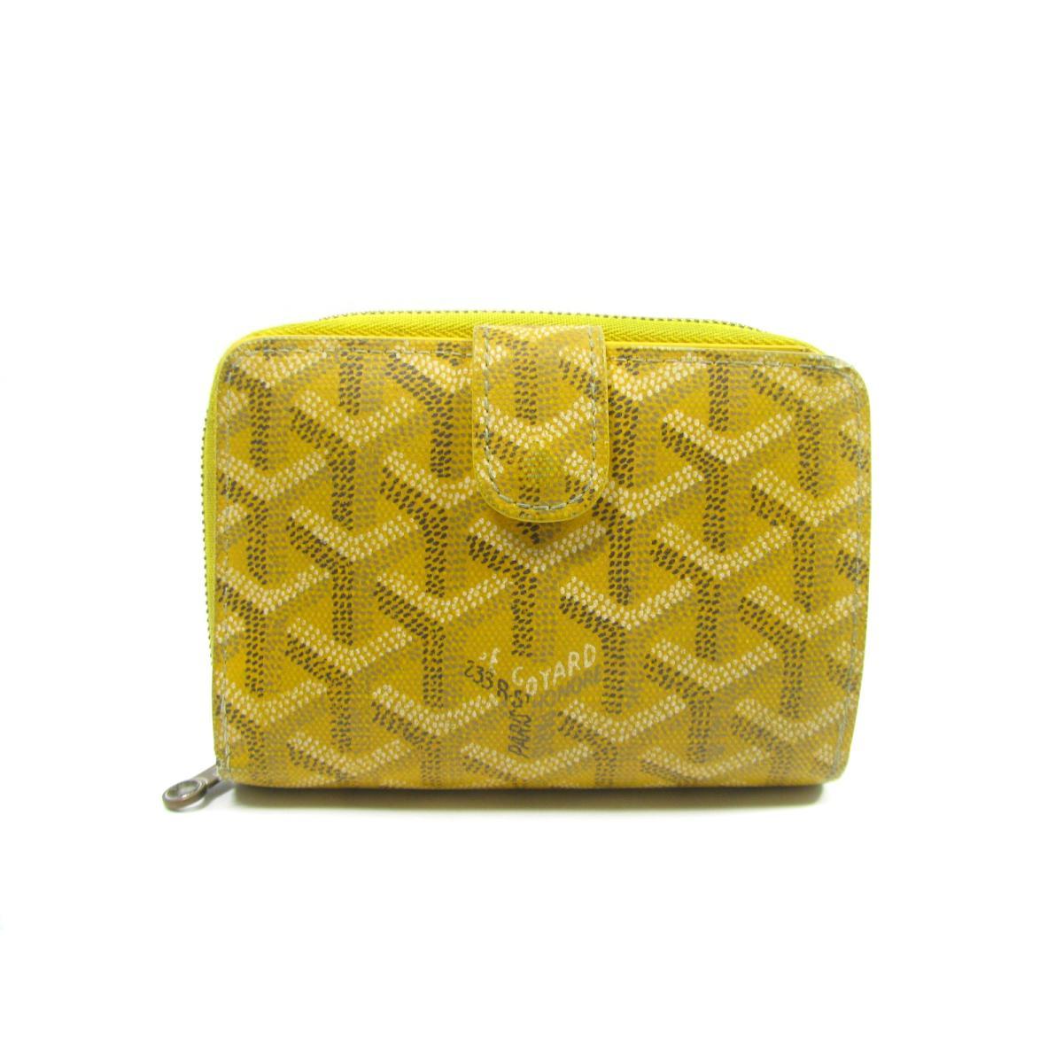 buy popular ea0a7 702df ゴヤール 二つ折ZIP財布