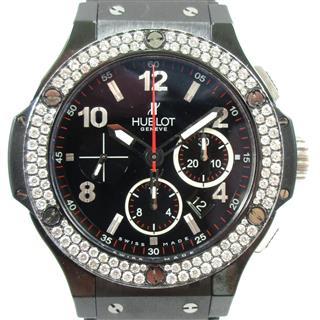 ウブロ (HUBLOT) ビッグバン ブラックマジック 裏スケルトン ウォッチ 腕時計 301.CV.130.RX.11