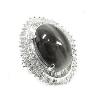 ジュエリー (JEWELRY) シリマナイトキャツアイリング 指輪