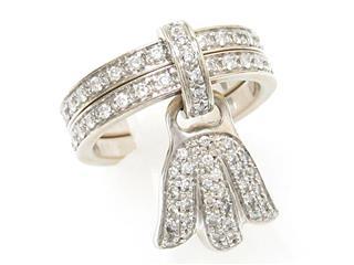 ピアジェ (PIAGET) マジックガーデン ダイヤリング 指輪