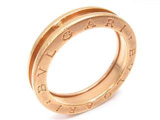 ブルガリ (BVLGARI) B-zero1 ビーゼロワンリング XSサイズ 指輪