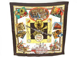 エルメス (HERMES) カレ90 スカーフ「THE ORIGINAL NEW ORLEANS CREOLE JAZZ」