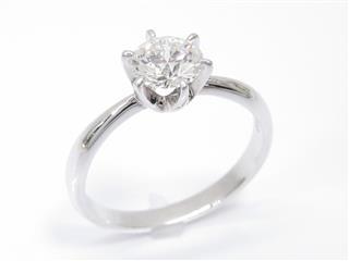 タサキ (TASAKI) 一粒ダイヤモンドリング 指輪