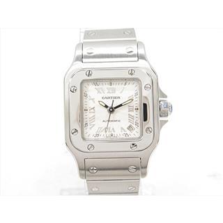 カルティエ (Cartier) サントス ガルベSM 腕時計 ウォッチ W20044D6