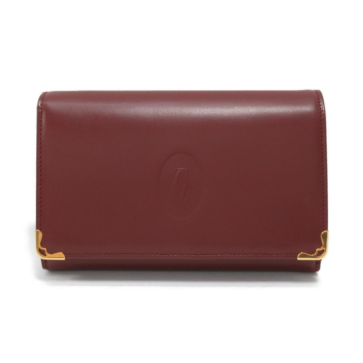 【おすすめ!】マストライン 三つ折財布 長財布
