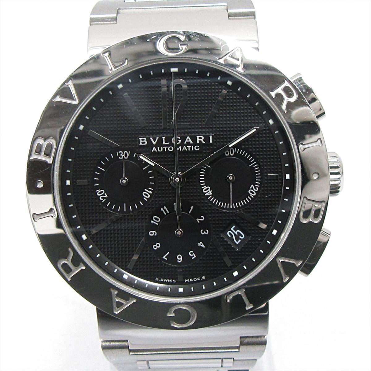 ブルガリブルガリ クロノグラフ 腕時計/メンズ