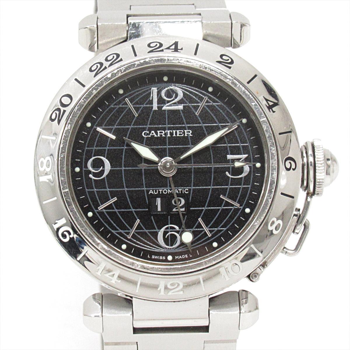 メリディアンGMT ビッグデイト 腕時計/メンズ/SALE