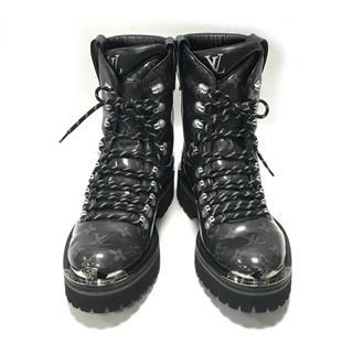 ルイヴィトン (LOUIS VUITTON) アウトランドライン アンクルブーツ 靴 1A4K2I