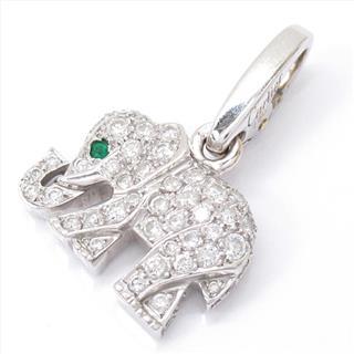 カルティエ (Cartier) エレファント ダイヤモンド チャーム