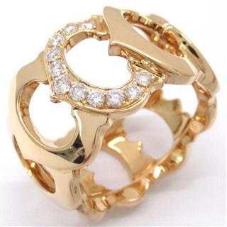 カルティエ (Cartier) Cドゥカルティエリング 指輪